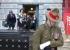 Tri-Service Vigil Guard at the Armistice Day service in November 2012