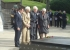 Veterans Affairs' Minister Michael Woodhouse, Haddon Donald, Chas Anderton, Dame Sian Elias at the Cassino service in May 2014