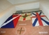 Merchant Navy flags on display courtesy of the Museum of Wellington