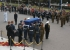 Unknown Warrior leaving Parliament on 11 November 2004