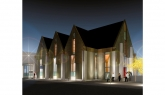 Artist's impression of Knox Presbyterian Church