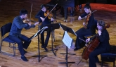 A Wellington string quartet performing