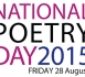 National Poetry Day 2015 logo