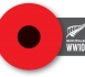 WW100 Poppy logo