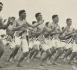 Maori Contingent recruits performing a haka