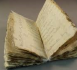 Historic  notebook conserved by New Zealand's Antarctic Heritage Trust.