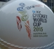 Section of a giant World Cup cricket ball