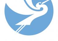 Blue kotuku logo for Waitangi 175