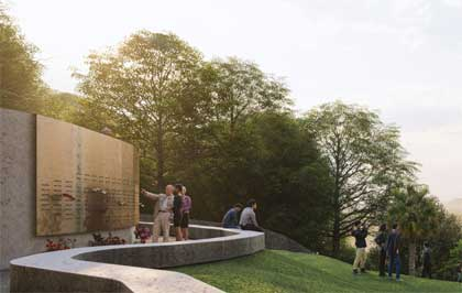 National Erebus Memorial - Design Proposal 005