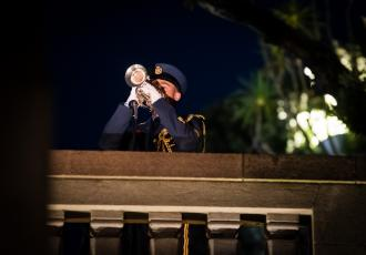 National Anzac Day Services at Pukeahu National War Memorial Park and Atatürk Memorial will not be going ahead this year due to the mass gathering restrictions in place in response to COVID-19. The unveiling of the Pacific Islands Memorial at Pukeahu, planned for 18 April, has also been postponed.
