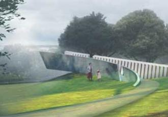 A design that includes a walkway projecting outward to the horizon has been selected for the new National Erebus Memorial after recommendation by a Design Selection Panel, announced Prime Minister Jacinda Ardern.