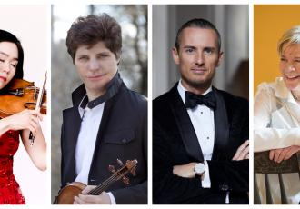 A multi-Grammy Award winner, a YouTube sensation & an internationally acclaimed Kiwi conductor feature in the NZSO's all-star 2020 concert line-up.