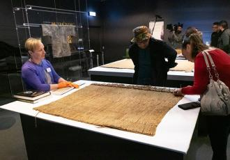 37 treasured Māori artefacts that left New Zealand 250 years ago, return home to Tūranganui-a-Kiwa this week and are being readied to form the foundation of the exhibition Tū te Whaihanga: a recognition of creative genius at Gisborne's Tairāwhiti Museum.