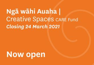 Manatū Taonga is seeking applications from creative spaces, that is organisations or groups whose primary purpose is to provide access to art-making activities and creative expression for people who experience barriers to participation.