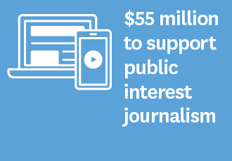 Minister for Broadcasting and Media, Kris Faafoi has announced a $55 million package to support public interest journalism. The Journalism Fund will support New Zealand's media to continue to produce stories that keep New Zealanders informed and engaged and support a healthy democracy.