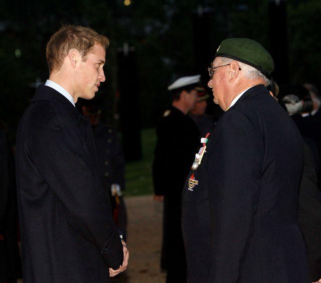 "Prince William talking to New Zealand veterans<p class=""detail-small"">Image courtesy of Kent Gavin Associates</p>"