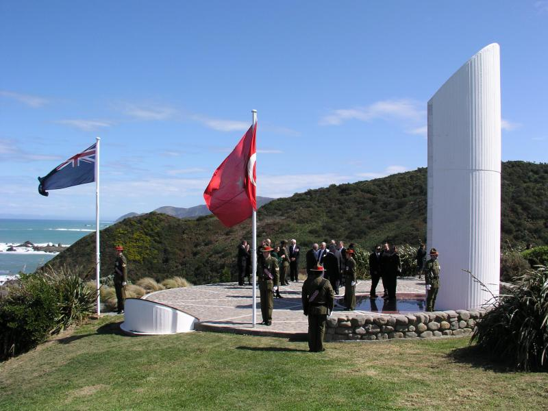 "The Memorial on Anzac Day<p class=""detail-small"">Image courtesy of the New Zealand Defence Force</p>"