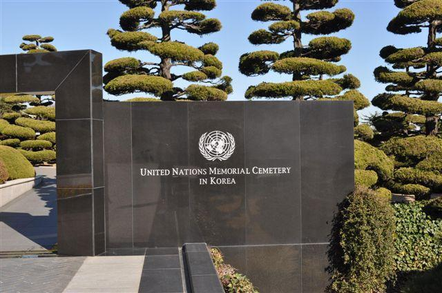 """United Nations Memorial Cemetery in Busan, Korea<p class=""""detail-small"""">Image courtesy of Nigel Robson</p>"""