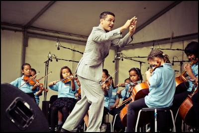 "Another performance from Sistema Aotearoa<p class=""detail-small"">Image courtesy of Adrian Malloch</p>"