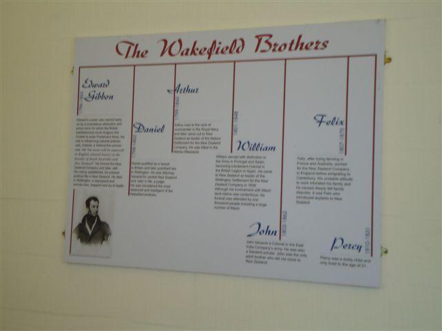 "Family tree diagram inside Bolton Street Chapel<p class=""detail-small"">Ministry for Culture and Heritage</p>"